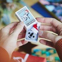 Koala Christmas Spirit Animal In A Matchbox