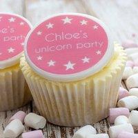 Unicorn Cupcake Decorations