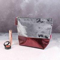 Luxury Velvet Make Up Bag