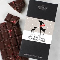 Godmother And Godfather Christmas Chocolate