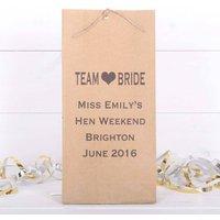Team Bride Personalised Hen Night Bags