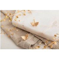 Gold Butterfly Earrings, Gold