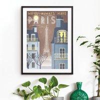 'Paris' Art Print