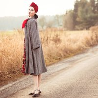 Swing Coat | Authentic Vintage 1940s Style