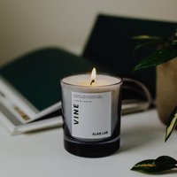 Fig, Blackcurrant And Basil Scented Candle