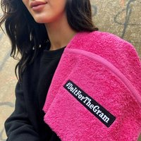 #Do It For The Gram Gym Towel With Pocket