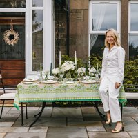 Mint And Moss Tablecloth