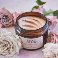 Rose Salt And Oil Body Scrub