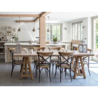 Handmade Trestle Dining Table