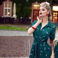 Lauren Siren Suit | Authentic Vintage 1940s Style