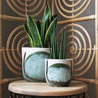 Stone Abstract Planters