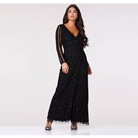 Rosie Hand Embellished Maxi Dress
