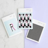 Mini Notebook Set 'The Monogram Collection'