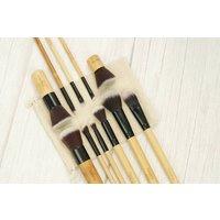 11 Piece Vegan Makeup Brush Set
