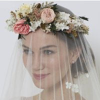 Ava Retro Horseshoe Crown