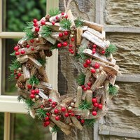 Country Heritage Christmas Wreath
