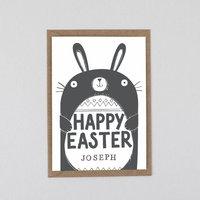 Easter Card Personalised