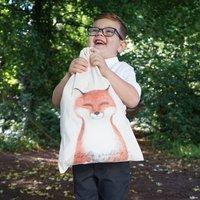 Personalised Finley Fox School Gym Bag