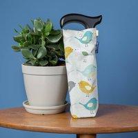 Folding Walking Stick Storage Bag In Garden Birds