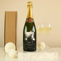 Personalised Photo Champagne Bottle