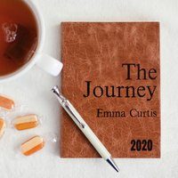 Personalised Diary 2020 Journey Diary Travel Adventures