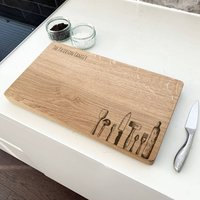 Personalised Kitchen Equipment Chopping Board