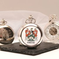Mechanical Pocket Watch With Coat Of Arms