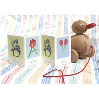 Baby Concertina Card And Decoration