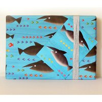 Sharks Wrapping Paper Two Sheets