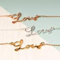 Love Sterling Silver Bracelet, Silver