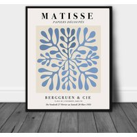 Henri Matisse Powder Blue Gallery Exhibition Print