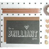 'Brilliant Gran' Grandmother Or Gran Birthday Card