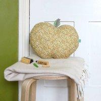 Handmade Floral Apple Shaped Nursery Cushion
