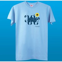 Men's Hawaii Pale Blue T Shirt