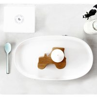 Wooden Tractor Egg Cup / Napkin Ring | Gift Boxed