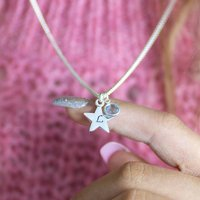 Personalised Star Charm Necklace
