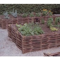 Garden Border Willow Set Of Four Large Gb2/L
