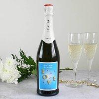 Personalised Anniversary Wine