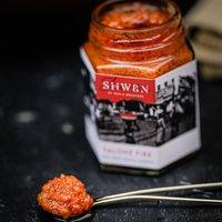 Homemade Salone Fire Chilli Sauce