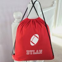 Personalised Rugby Childs Pe Bag