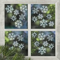 Snowflake Window Stickers Christmas