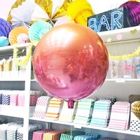 Lava Ombre Orb Balloon Party Decoration