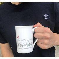Cyclists Coffee Cup