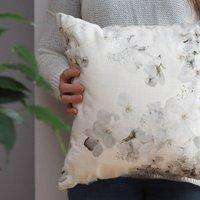 Bespoke Wedding Bouquet Cushion Cover