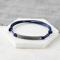Personalised Date Hidden Message Bracelet