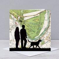 Couple Walking In Hampton Court Park