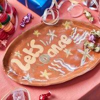 Lets Dance Terracotta Platter
