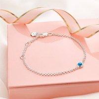 December Turquoise Birthstone Bracelet
