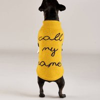 Call My Name Dog Jumper
