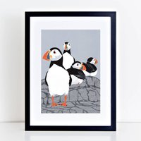Puffin Prints 'Choice Of Four Designs'